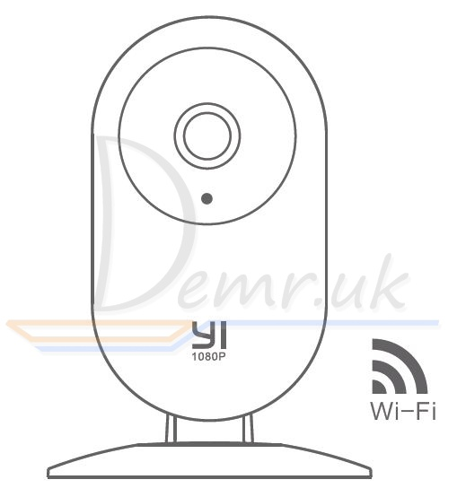 YI 1080p Home Camera quick installation guide